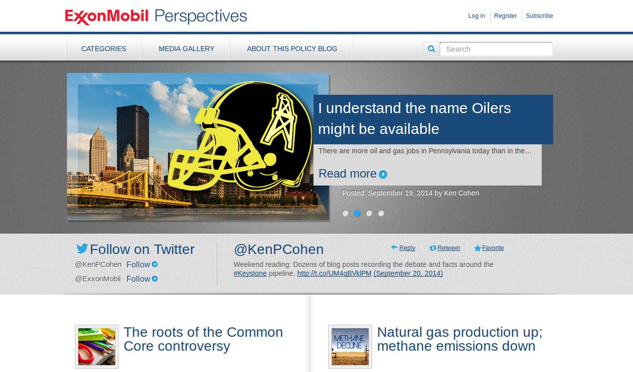 Blog ExxonMobils