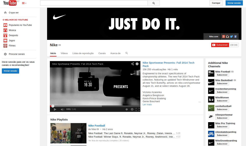 Youtube nike