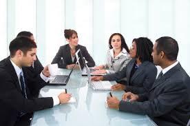 reunião trabalho