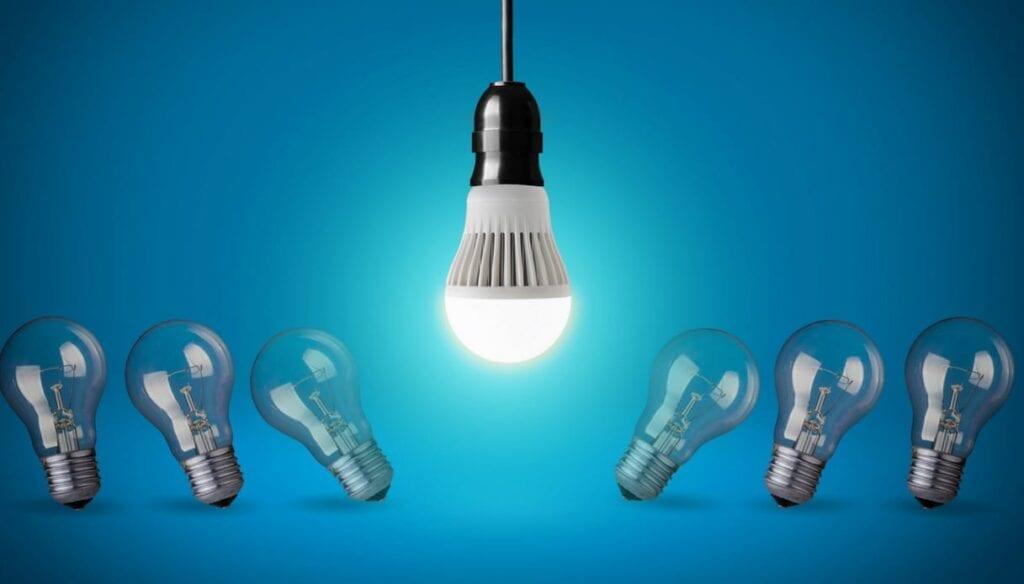 lampâdas LED